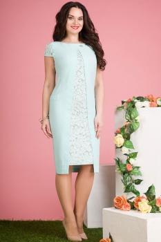 Платье Лилиана 548-1 ментол