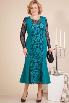 Платье Лилиана 610К бирюза