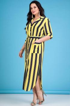 Платье Лилиана 641-1 желтый