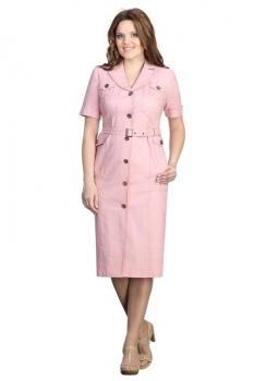 Платье Линия-Л 139В-2 светло-розовый