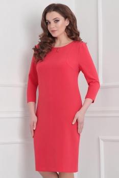Платье Линия-Л 1629 оттенки красного