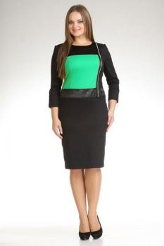 Платье Лиона-Стиль 385-2 бирюза