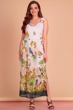 Платье Лиона-Стиль 435-3 белый new