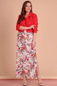Костюм Лиона-Стиль 589-2 красный