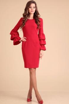 Платье Лиона-Стиль 593 красный