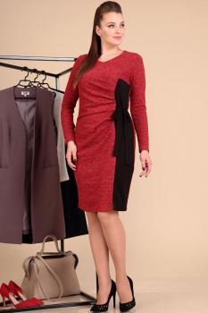 Платье Лиона-Стиль 594 красный