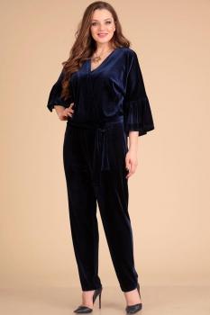 Комбинезон Лиона-Стиль 605 темно-синий