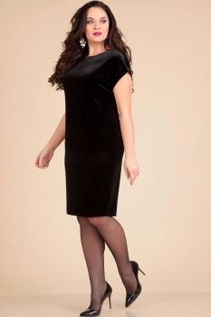 Платье Лиона-Стиль 610 черный