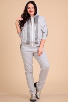 Спортивный костюм Лиона-Стиль 615 серый