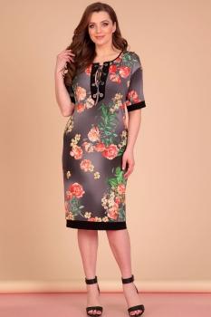 Платье Лиона-Стиль 638 черный