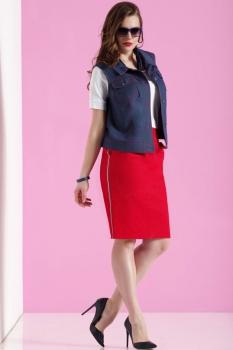 Комплект Lissana 3081 синий+красный