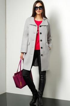Пальто Lissana 3194 серый