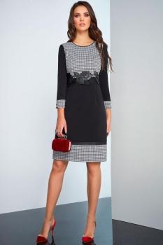 Платье Lissana 3245 темные тона
