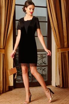 Платье Lissana 3255 черный