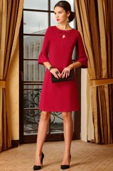 Платье Lissana 3282 красный