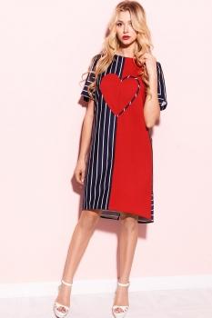 Платье ЛЮШе 1730 красный