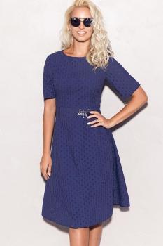 Платье ЛЮШе 1765 темно-синий