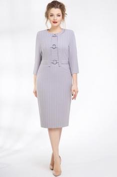 Платье Магия Моды 1234-2 серый