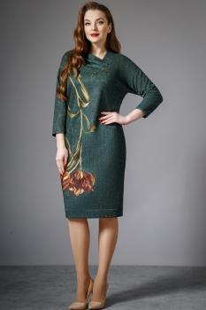 Платье Магия Моды 1278 тёмно-бирюзовый