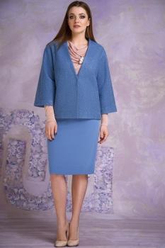 Костюм Магия Моды 1283-4 голубой, розовый