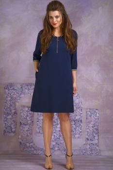Платье Магия Моды 1312 тёмно-синий