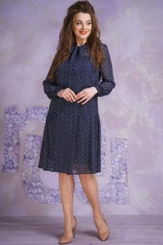 Платье Магия Моды 1364-2 тёмно-синий