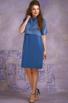 Платье Магия Моды 1368 голубой