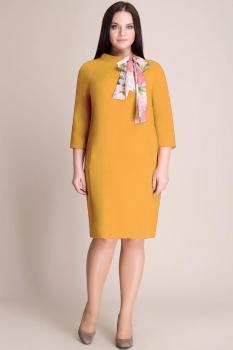 Платье Магия Моды 935-1 горчица