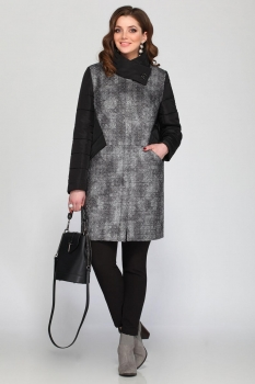 Пальто Matini 21126 с черным