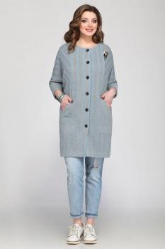 Пальто Matini 21146-1 голубой