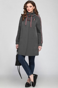 Пальто Matini 2925-1 серые тона