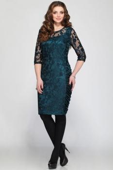 Платье Matini 31041-1 темно-бирюзовый