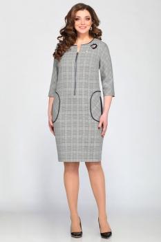 Платье Matini 31047 клетки