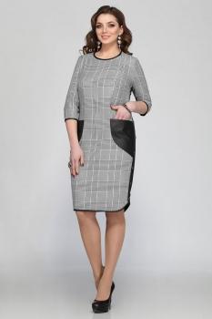 Платье Matini 31059-2 клетка