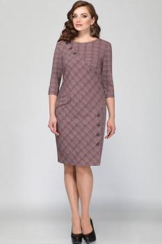 Платье Matini 31115 розовые тона