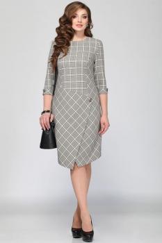Платье Matini 31132 клетки
