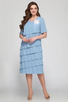 Платье Matini 31185 голубой