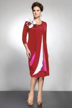 Платье Matini 3577-2 красный