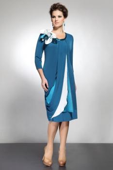 Платье Matini 3577 василек