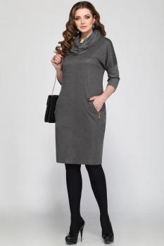 Платье Matini 3944-2 серебристый