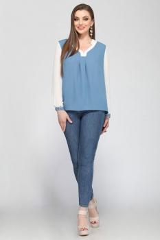 Блузка Matini 41054-1 голубой