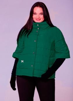 Куртка Michel Chic 342.1-1 изумруд