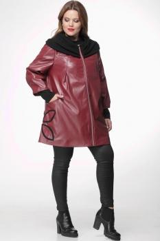 Пальто Michel Chic 345-1 бордо