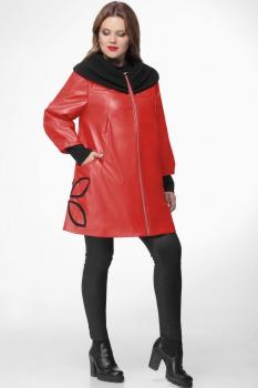 Пальто Michel Chic 345-3 красный