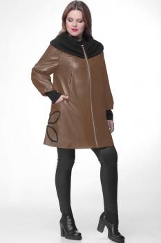 Пальто Michel Chic 345 коричневый