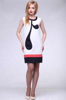 Платье Michel Chic 608 с черным узором