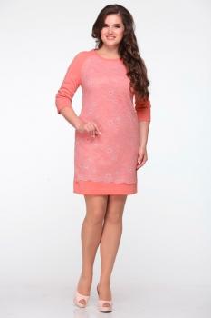 Платье Michel Chic 645 коралл