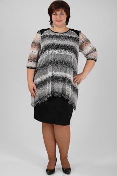 Платье Michel Chic 657 серый