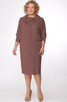 Платье Michel Chic 684-1 какао