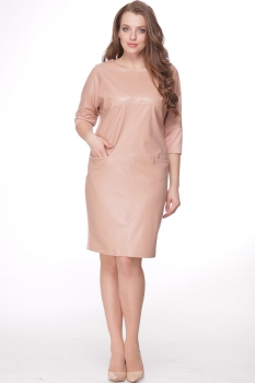Платье Michel Chic 685-1 пудра